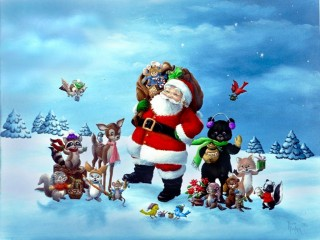 3D Christmas Wallpaper HD