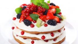 Fruit Cake Hd Widescreen Wallpapers