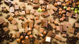 Nuts Coffee Chocolate Hd Widescreen