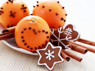Oranges Cinnamon Cookies