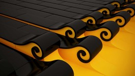3d Wallpaper Yellow