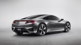 Acura Nsx Concept Rear Angle Wide Desktop