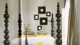 Amazing Black White And Yellow Bedroom Ideas  Widescreen Wallpapers