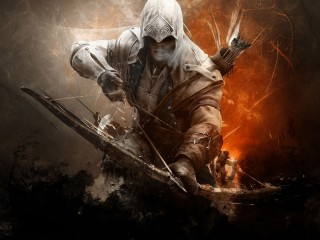 Asasins Creed Connor High Definition Desktop And Mac Wallpapers