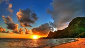 Beach Sunset 1080p Hd Wallpaper For Desktop HD Pic