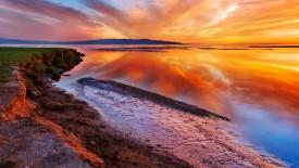 Beautiful Beach Sunset HD Wallpaper HD Pic