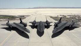 Blackbird Military Army Plane Planes Runway Desert