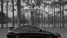 Cars Black Acura Power Dreams Desktop