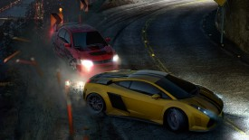 Cars Drift Night Speed Widescreen Photo Desktop