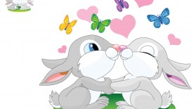 Cute Bunny Cartoon
