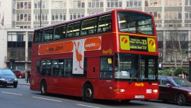 Double Floor Bus in London wallpaper
