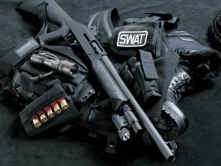 Guns Shotgun Weapons Swat