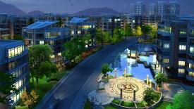 HD 3D Architecture Amazing City