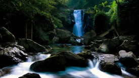 HDR Waterfall Stune 3D Wallpaper Widescreen