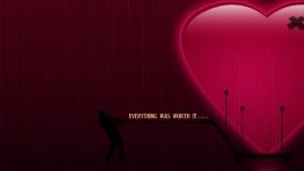 Love Hearts Everything Was Worth Desktop