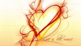 Love Music Like Hearts Facebook Cover Timeline Desktop