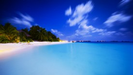 Maldivian Night Iphone Panoramic Wallpaper HD Pic