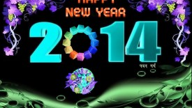 2014 New Year amazing wallpaper