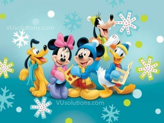HAPPY NEW YEAR 2014 WALLPAPERS cartoon
