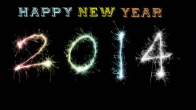 Happy New Year 2014 beautiful wallpaper
