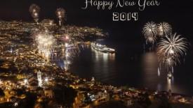 Happy New Year 2014 city wallpaper