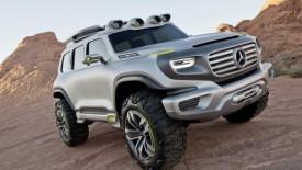 Latest Mercedes Benz Ener G Force Concept Car