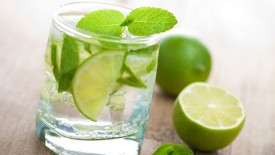 Lime Water Hd Widescreen Desktop Wallpaper