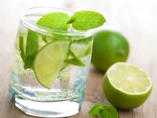 Lime Water Hd Widescreen Desktop Wallpaper