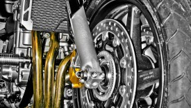 Motorcycle Engine And Exhaust