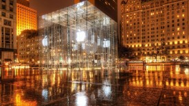 New York Apple Wallpaper Widescreen Wallpaper