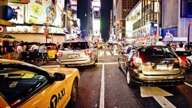 New York Traffic Wallpaper Widescreen Wallpaper