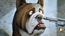 Pictures Funny Dogs Animated Wallpapers