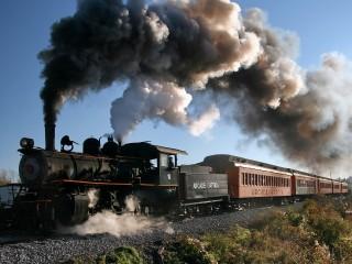 Steam Train HD Widescreen