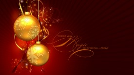 christmas ball hd wallpapers