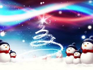 free christmas hd wallpaper background