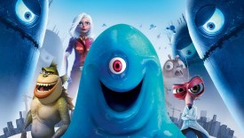 Monsters vs. Aliens Movie Wallpaper HD Widescreen