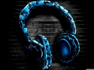 Abstract Headphones High Definition Desktop Wallpapers Widescreen High Definition