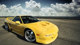 Acura Nsx Photography Yellow Cars Desktop