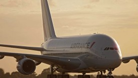 Airfrance Airbus A380 Widescreen Wallpaper