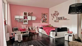 Amazing Pink Black And White Girls Bedroom  Widescreen Wallpapers