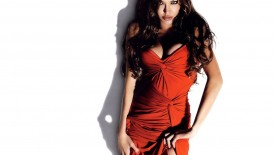Angelina Jolie Hot Red Dress Brunette Actress Angelina Jolie Desktop