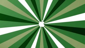 Apple Green Stripes Mac Wallpaper
