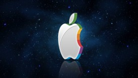 Apple Logo 3D Wallpaper Widescreen