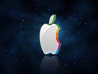 Apple Logo 3D Wallpaper Widescreen