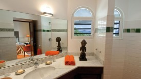 Bathroom Design Shower Cabin With Glas Walls Toilet Bowl And Sink