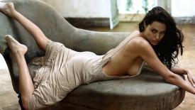 Beautiful Brunette Angelina Jolie Hot Babe Angelina Jolie Desktop
