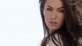 Beautiful Brunette Face Megan Fox Megan Fox Desktop
