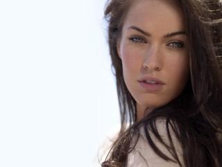 Beautiful Brunette Face Megan Fox Megan Fox Desktop