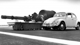Big Guns Cars Monochrome Army Military