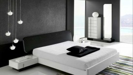 Black And White Bedroom Designs  Widescreen Wallpapers